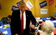 Трамп прервал выступление ради  спасения  женщины
