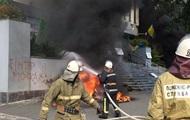 "Глава МВД не исключил версию самоподжога в здании ""Интера"""