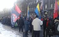 Акции протеста в Киеве: перекрыта Грушевского