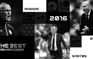 Declared the top three contenders for the title of Coach of the year by FIFA