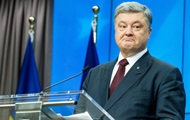 Poroshenko about the missile exercises: a rose drive