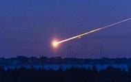 In Sibirien ein Meteorit fiel