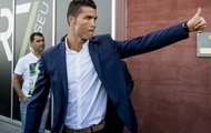 Filthy rich: Ronaldo was shown a tax return