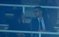 Ronaldo showed the world his new girlfriend at the match real Madrid