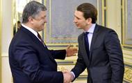 Le président de l'Ukraine a rencontré le chef de l'OSCE