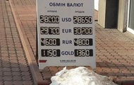 НБУ дещо зміцнив офіційний курс гривні щодо долара США