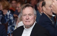 Bush was transferred to intensive care