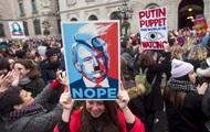 По всему миру проходят акции женщин против Трампа