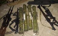 Опубліковане фото зброї, виявленої на Чонгарі