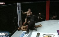 MMA fighter danced in front of his knockout
