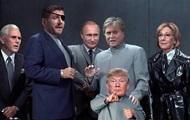 Kleinen Trump verwandelte sich in ein mem