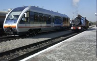 Uz added the train from Kiev to Zaporozhye and Kharkov