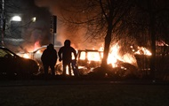 Unknown staged riots in Stockholm