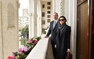 Alijew nannte seine Frau das erste der Vize-Präsident von Aserbaidschan