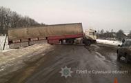 Auf Sumy Region während der überfahrt stürzte in VAZ Lastwagen: fünf Verletzten