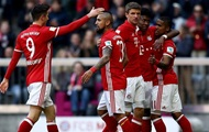 Bundesliga: Bayern scorede otte mål for Hamburg, Hertha at vinde