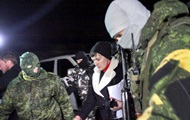 Появилось видео визита Савченко к пленным