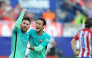 Example: Messi brought Barcelona win over Atletico