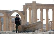La siria ha rubato il prevalere altezza su approcci a Palmyra