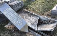 I USA, vandaler skändade den Judiska kyrkogården