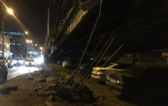 В Киеве обрушился мост, перекрыто движение в районе Шулявки