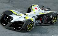 I Barcelona visade en obemannad ultra-light racing bil