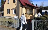 In Deutschland Mordverdächtiger mir zwei Polizisten