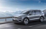 Volkswagen visade den nya crossover-Tiguan Allspace