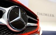 Daimler відкликає мільйон автомобілів по всьому світу