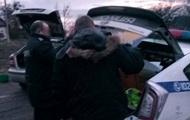 На Волыни с погоней задержали полицейских-взяточников