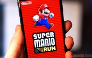 Game Super Mario Run was released on Android