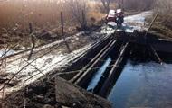 На Луганщине взорвали автомобильный мост