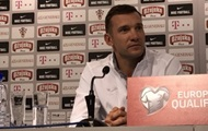 Shevchenko: the Team ready for the match with Croatia