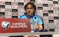 Modric: a lot of respect for the Ukrainian national team, she's our main rival in the group