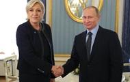 Марин Ле Пен обсудила с Путиным международный терроризм