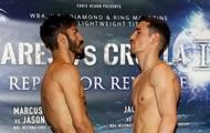 Линарес - Кролла: Боксеры прошли процедуру взвешивания