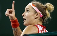Mattek-Sands repeated the record of flow speed in the match against Svitolina