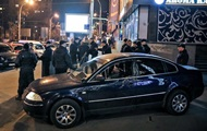In the centre of Kiev, a man was shot in the leg