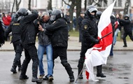 US concerned about crackdown on demonstrantov in Minsk