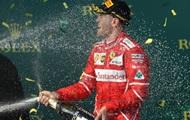 Vettel vandt Grand Prix i Australien