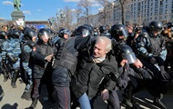 У Москві затримали 800 учасників мітингу