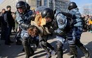 Акція протесту в Санкт-Петербурзі: затримано більше 130 людей