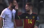 Сборная России по футболу отыгралась в почти уже проигранном матче с Бельгией