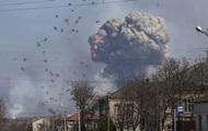 Försvarsdepartementet: i lager Balakliya 30% ammunition