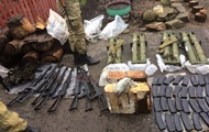 В Бахмуте у двух сепаратистов изъяли целый арсенал