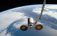Space truck Cygnus docked with the ISS