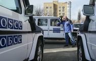 При взрыве авто ОБСЕ погиб один человек