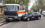 В Одесі під час тест-драйву розбили новий Porshe за 3 мільйони гривень