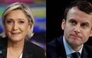 Макрон і Ле Пен виходять до другого туру виборів