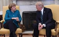 Трамп и Меркель поговорили о КНДР, Ближнем Востоке и Украине